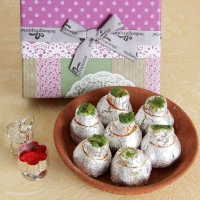 Sweet Box with Roli Chawal Container