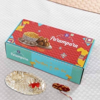 Sweets with Namkeen in Gift Box