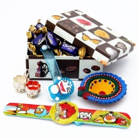 Candy Gift Box with 2 Sparkle Hand Bands