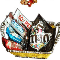 Bhaidooj Basket Full of Chocolates