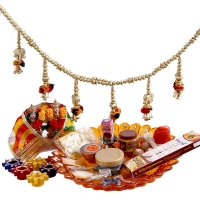 Diwali Sampoorna Pooja Kit With Laxmi Ganesha