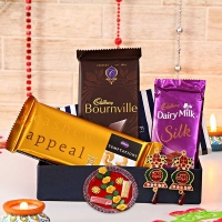 Tikka Holder with Chocolates and Wall Decorative