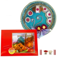 Besan Laddoo Temptations : Tikka with Sweets