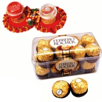 16 PCS Rocher & Tikka : Tikka with Chocolates
